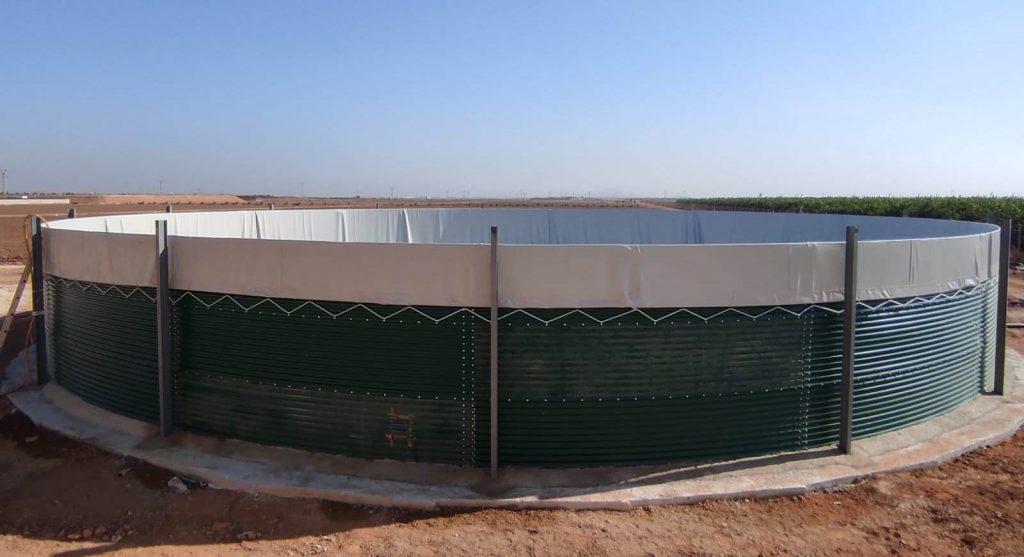 deposito metalico coemser de 800m3 para rijk zwaan